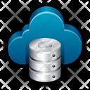 Cloud Database Cloud Computing Cloud Server Icon