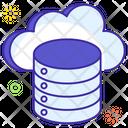 Clod Database Cloud Storage Cloud Hosting Icon