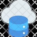 M Cloud Server Cloud Database Cloud Server Icon