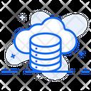 Cloud Database Cloud Computing Cloud Storage Icon