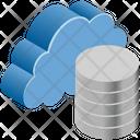 Cloud Computing Database Icon