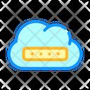 Memory Cloud Storage Icon