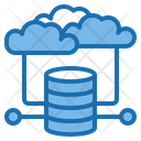Cloud Computing Architecture Intelligen Icon