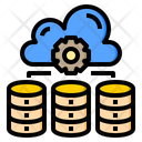 Database Cloud System Online Icon