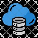 Cloud Database Icon