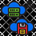 Cloud Database Cloud Server Cloud Icon