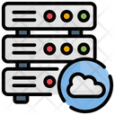Cloud Database Servers Icon