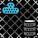 Transfer Server Network Icon