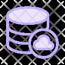 Cloud Datacenter Database Icon