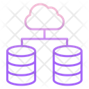 Icloud Link Cloud Server Network Cloud Computing Network Icon