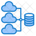 Database Network Cloud Icon