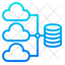 Cloud Database Network Database Network Icon