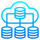 Network Database Storage Icon