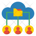 Cloud Database Network Database Network Network Icon