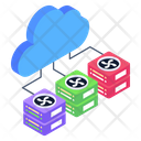 Cloud Server Cloud Networking Cloud Connection Icon