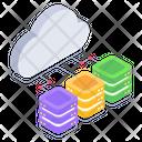 Cloud Storage Cloud Storage Servers Cloud Servers Icon
