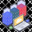 Cloud Datacenter Cloud Computing Cloud Technology Icon