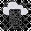 Cloud Datacenter Icon