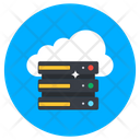 Cloud Dataserver Cloud Hosting Cloud Technology Icon