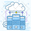 Cloud Dataserver Icon