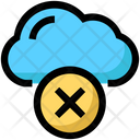 Cloud Delete Icon
