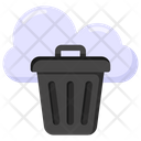 Cloud Bin Cloud Delete Cloud Trash Icon