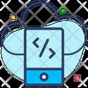Cloud Development Icon