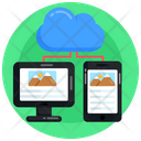 Cloud Devices Icon