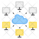Cloud Device Cloud Network Device Connection Icon
