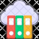 Cloud Archives Cloud Binders Cloud Books Icon
