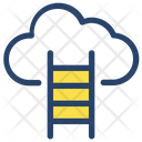 Cloud Businessman Project Icon
