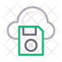 Cloud Diskette Icon