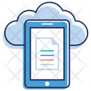 Cloud Document Cloud Hosting Cloud Network Icon