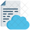 Cloud Document Icloud Note Icon