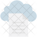 Cloud Computing Document Icon