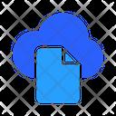 Cloud Document Icon