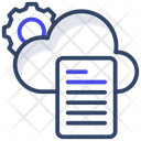 Cloud Document Setting Icon
