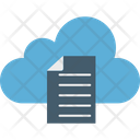Cloud Documents Cloud Computing Cloud Papers Icon