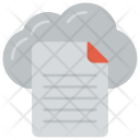Cloud File Creative Icon