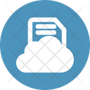 Cloud Document Clouded Icon