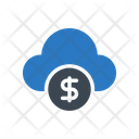 Cloud Dollar Seo Icon