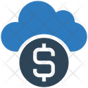 Cloud Dollar Cloud Currency Dollar Icon