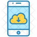 Clouddownload Iphone Device Icon