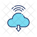 Cloud Download Download From Cloud Cloud Storage Icon