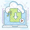 Cloud Download Cloud Computing Cloud Storage Icon