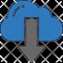 Seo Cloud Down Icon