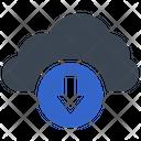 Cloud Download Arrow Icon