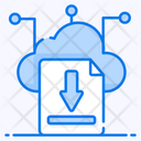 Cloud Download Cloud Computing Cloud Technology Icon