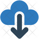 Sign Cloud Arrow Icon