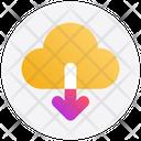 Cloud Arrow Down Icon